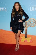 ADRIENNE BAILON at Cirque Du Soleil Presents Luzia at Dodger Stadium in Los Angeles 12/12/2017