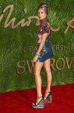 ADWOA ABOAH at British Fashion Awards 2017 in London 12/04/2017