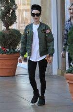 AELSSANDRA TORRESANI Out Shopping at The Grove in Los Angeles 12/11/2017