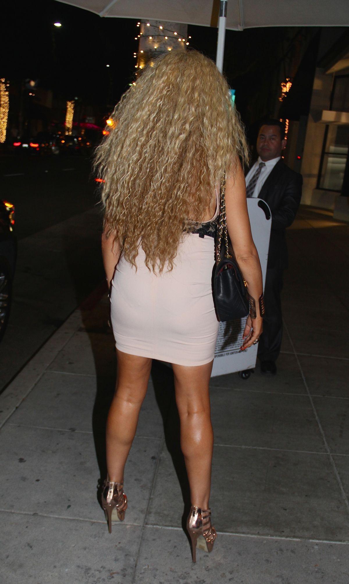 AFIDA TURNER Arrives at Mr. Chow in Beverly Hills 12/22 ...