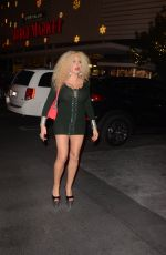 AFIDA TURNER Out Shopping in Los Angeles 11/30/2017