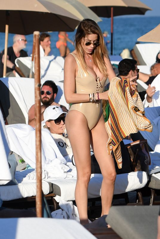 AIDA YESPICA in Swimsuit at a Beach in Miami 12/30/2017