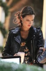 ALESSANDRA AMBROSIO and Jamie Mazur at The Forum in Inglewood 11/29/2017