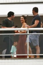 ALESSANDRA AMBROSIO at a Roof Top Party in Florianopolis 12/29/2017