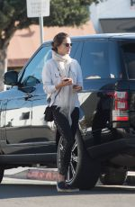 ALESSANDRA AMBROSIO Heading to a Gym in Los Angeles 12/04/2017