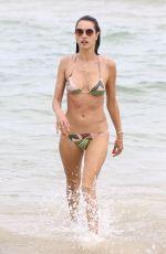 ALESSANDRA AMBROSIO in Bikini on the Beach in Florianopolis 12/28/2017