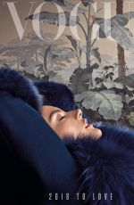 ALESSANDRA AMBROSIO in Vogue Magazine, Portugal January 2018