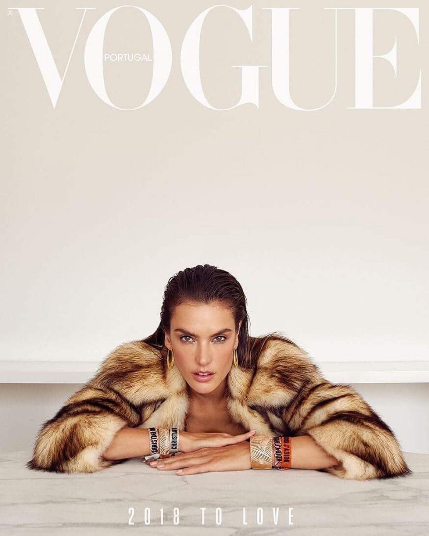 959cc97ea6d0 ALESSANDRA AMBROSIO in Vogue Magazine