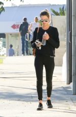ALESSANDRA AMBROSIO Out and About in Brentwood 12/14/2017