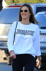 ALESSANDRA AMBROSIO Out and About in Los Angeles 12/07/2017