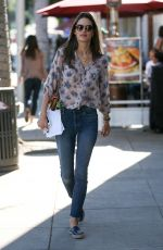 ALESSANDRA AMBROSIO Out Shopping in Beverly Hills 12/12/2017