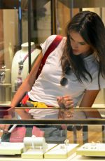 ALESSANDRA AMROSIO at Cartier Jewerly Store in Beverly Hills 12/02/2017