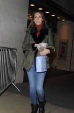 ALEX JONES Leaves The One Show in London 12/18/2017