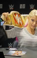 ALEXA BLISS at WWE Live Event at Madison Square Garden in New York 12/26/2017