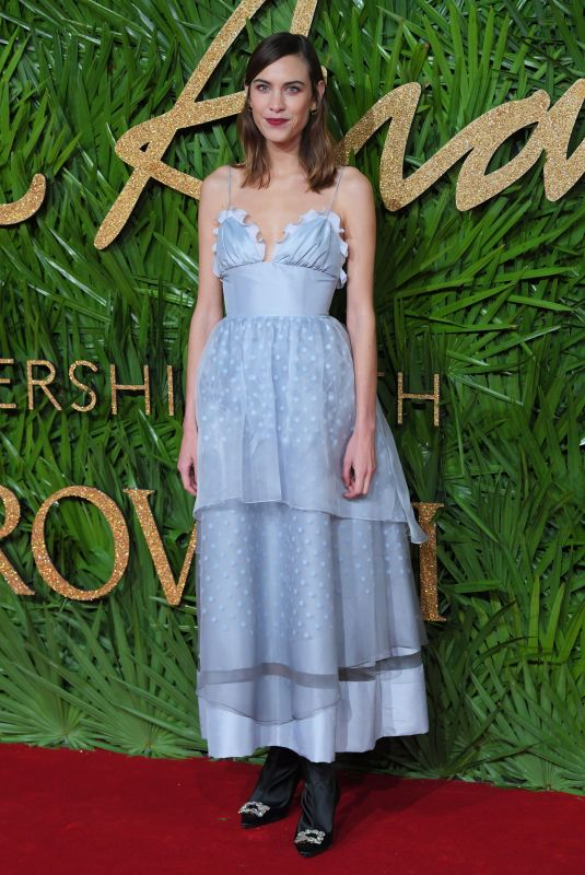 ALEXA CHUNG at British Fashion Awards 2017 in London 12/04/2017