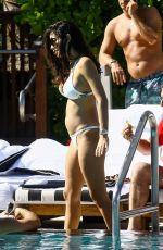 ALEXANDRA MICHELLE RODRIGUEZ in Bikini at a Pool in Miami 12/05/2017