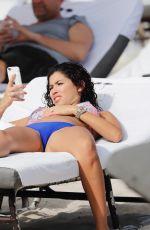 ALEXANDRA RODRIGUEZ in Bikini on the Beach in Miami 12/07/2107