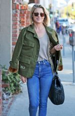 ALI LARTER Out Shopping in Brentwood 12/12/2017
