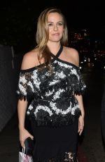 ALICIA SILVERSTONE Leaves Christian Siriano Book Launch Party in Los Angeles 11/30/2017