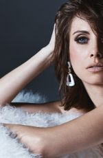 ALISON BRIE for Modern Luxury Magazine, January 2018