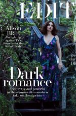 ALISON BRIE for The Edit Magazine, December 2017 Issue