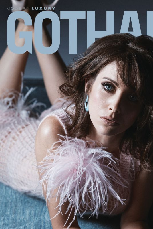 ALISON BRIE in Gotham Magazine, January 2018
