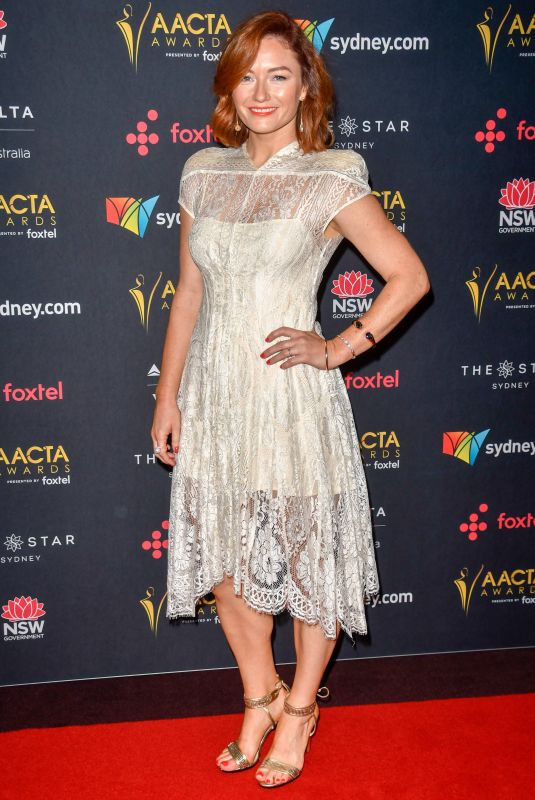 ALISON MCGIRR at Australian Academy Cinema Television Arts Awards Luncheon in Sydney 12/04/2017