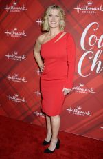 ALISON SWEENEY at Christmas at Holly Lodge Screening in Los Angeles 12/04/2017