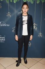 ALLEGRA ACOSTA at Brooks Brothers Holiday Celebration with St Jude Children's Research Hospital in Beverly Hills 12/02/2017