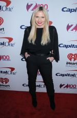 ALLI SIMPSON at Z100 Jingle Ball in New York 12/08/2017