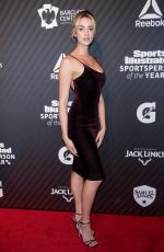 ALLIE AYERS at Sports Illustrated Sportsperson of the Year 2017 Awards in New York 12/05/2017