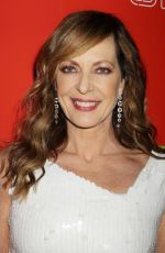 ALLISON JANNEY at 1st Annual Neon Holiday Party Hosted by Margot Robbie and Allison Janney in New York 12/12/2017
