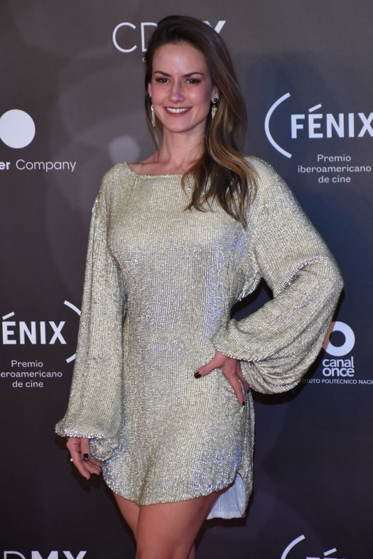 ALTAIR JARABO at Fenix Film Awards in Mexico City 12/06/2017