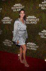ALY RAISMAN at Sports Illustrated Swimsuit Island at W Hotel in Miami 12/07/2017