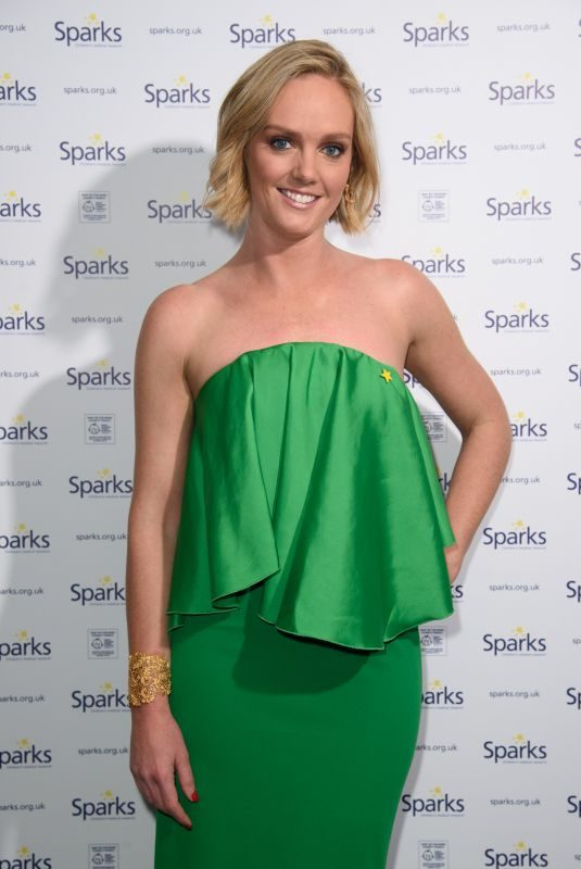 AMANDA DAVIES at Sparks Winter Ball in London 12/06/2017