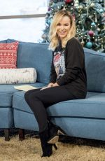 AMANDA HOLDEN at This Morning Show in London 12/15/2017