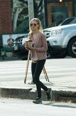 AMANDA SEYFRIED Out and About in Los Angeles 11/29/2017