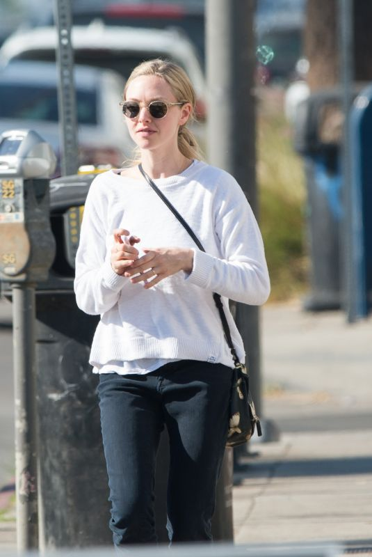 AMANDA SEYFRIED Out for Lunch in Los Angeles 12/06/2017