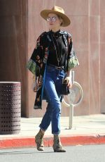 AMBER HEARD Out in Beverly Hills 12/04/2017