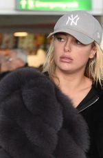 AMBER TURNER at Heathrow Airport in London 12/142017