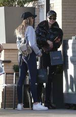 AMELIA and DELILAH HAMLIN Shopping at Barney