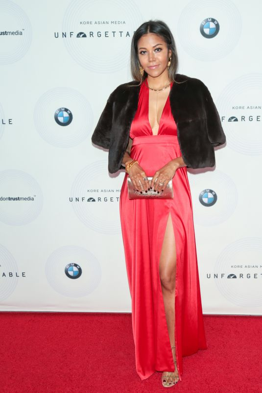 AMERIE at 16th Annual Unforgettable Gala in Beverly Hills 12/09/2017