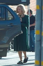 AMY ADAMS on the Set of Backseat in Los Angeles 30/11/2017