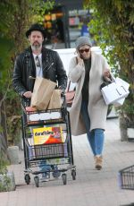 AMY ADAMS Out Shopping in Beverly Hills 12/23/2017