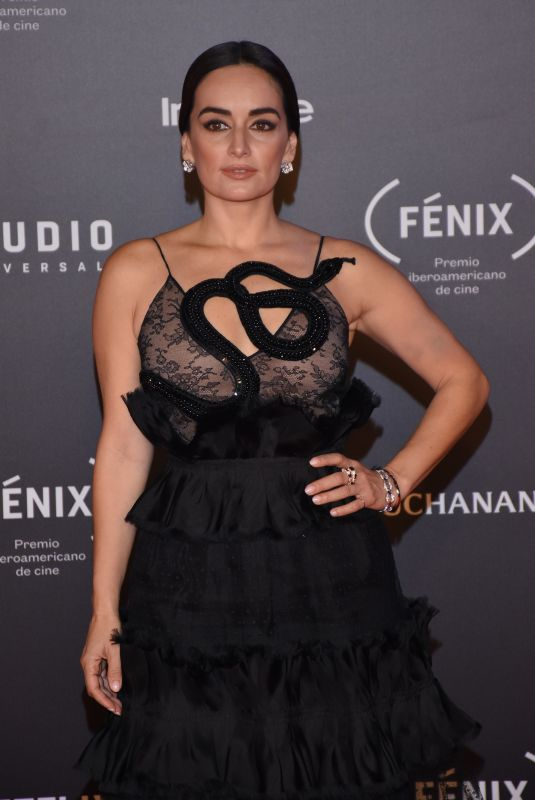 ANA DE LA REGUERA at Fenix Film Awards in Mexico City 12/06/2017