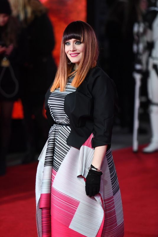 ANA MATRONIC at Star Wars: The Last Jedi Premiere in London 12/12/2017