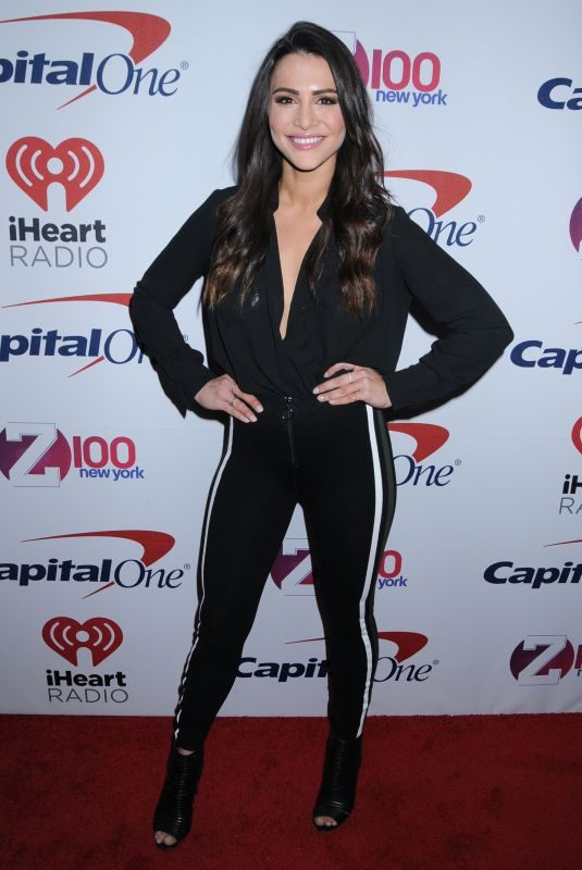 ANDI DORFMAN at Z100 Jingle Ball in New York 12/08/2017