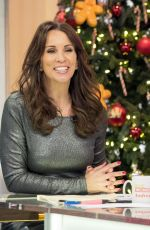 ANDREA MCLEAN at Loose Women Show in London 12/22/2017