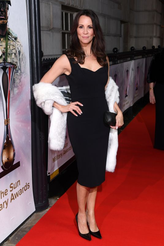 ANDREA MCLEAN at The Sun Military Awards in London 12/13/2017