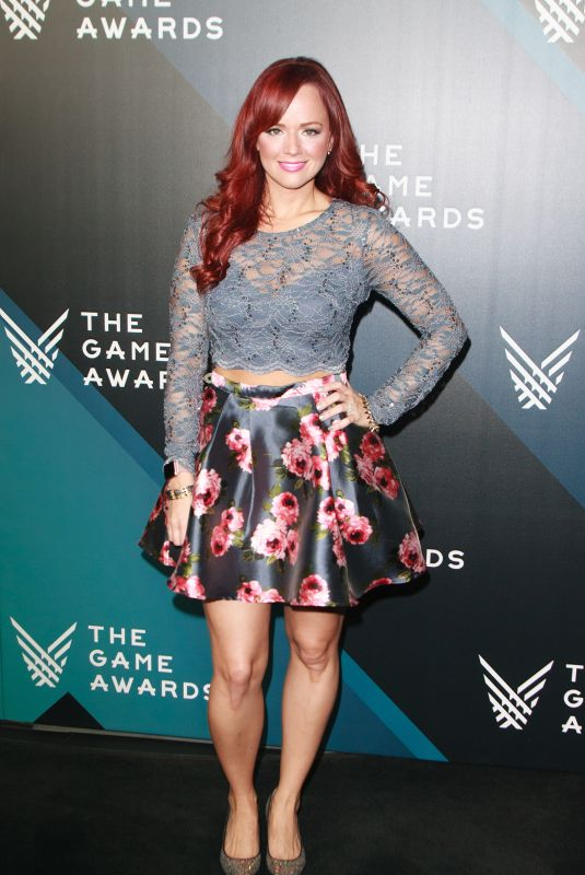 ANDREA RENE at The Game Awards 2017 at Microsoft Theater in Los Angeles 12/07/2017